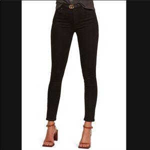 Reformation jeans black 23